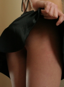 Blonde Tease Skye Strips Little String Bikini Top Perky Perfect Tits - Picture 4