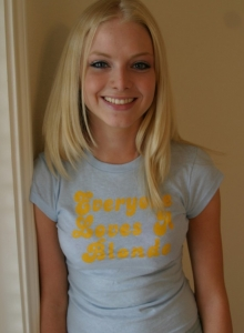 Everyone Loves A Blonde Like Skye Who Loves To Tease With Her Tight Teen Body - Picture 3