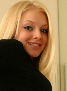 Cute Teen Skye Shows Off Her Tight Perfect Ass In A Tiny Thong In The Office - Picture 10